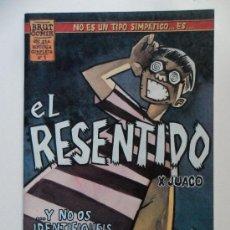 Cómics: EL RESENTIDO Nº 1 . JUACO . BRUT COMIX. Lote 35184915