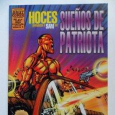 Cómics: SUEÑOS DE PATRIOTA Nº 1 . HOCES . BRUT COMIX. Lote 35185933