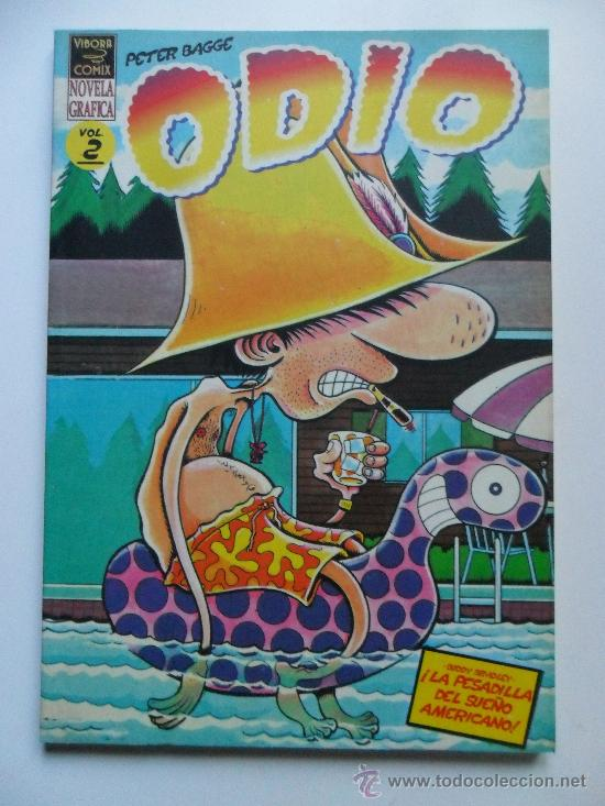 ODIO VOL 2 . PETER BAGGE . NOVELA GRÁFICA 1ª EDICIÓN (Tebeos y Comics - La Cúpula - Comic USA)