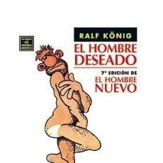 Cómics: EL HOMBRE NUEVO (RALF KÖNIG). Lote 35200056