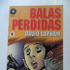 Cómics: BALAS PERDIDAS Nº 1 . DAVID LAPHAM. Lote 35261471