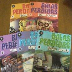 Cómics: PACK BALAS PERDIDAS 1 AL 5. Lote 35443140