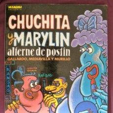 Cómics: MAKOKI. Nº 2. PRESENTA: CHUNGUITA Y MARYLIN ALTERNE DE POSTÍN. EDICIONES LA CÚPULA 1984.. Lote 35716706