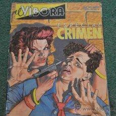 Cómics: EL VIBORA - ESPECIAL CRIMEN . Lote 35875140