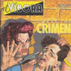 Cómics: EL VÍBORA ESPECIAL CRIMEN.. Lote 35958622