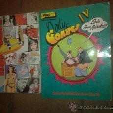 Cómics: LOTE DE DOS COMICS EL VIBORA DIRTY IV Y TOMO V CON EL 12, 13 Y 14 METAL HURLANT.. Lote 36289941