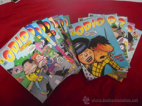 ODIO - PETER BAGGE - COMPLETA 14 NUMEROS EN PRESTIGE (Tebeos y Comics - La Cúpula - Comic USA)