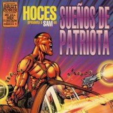 Cómics: SUEÑOS DE PATRIOTA (HOCES) BRUT COMIX. Lote 36801434
