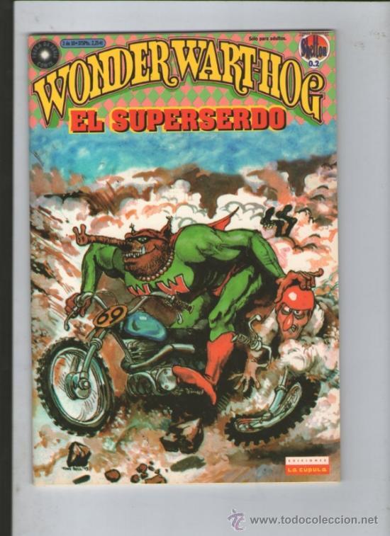 WONDER WART-HOG. EL SUPERSERDO 3.GILBERT SHELTON (Tebeos y Comics - La Cúpula - Comic USA)