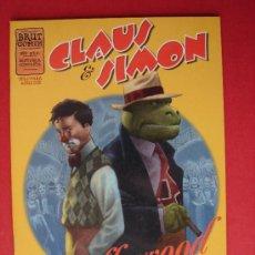 Cómics: CLAUS Y SIMON, EN HOLLYWOOD. AUT. SANTIAGO ARCAS Y DANIEL ACUÑA. EDICIONES LA CÚPULA AÑO 1998. NUEVO. Lote 37360095