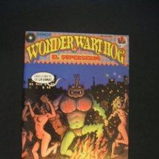Cómics: WONDER WART HOG - EL SUPERSERDO - Nº 2 DE 10 - LA CUPULA - . Lote 37669340