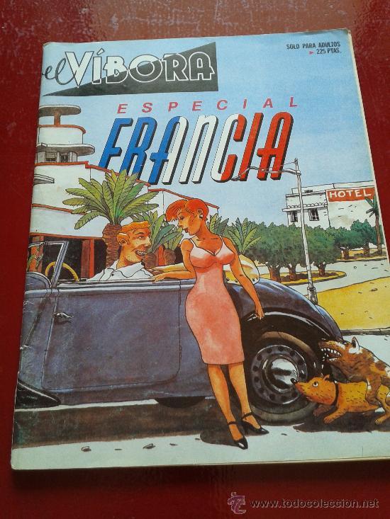 EL VÍBORA ESPECIAL FRANCIA (Tebeos y Comics - La Cúpula - El Víbora)