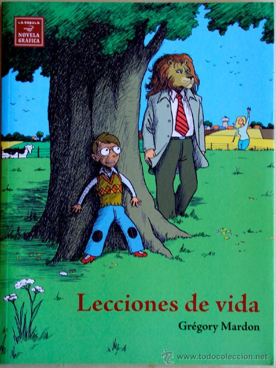 LECCIONES DE VIDA. NOVELA GRAFICA. (Tebeos y Comics - La Cúpula - Comic Europeo)