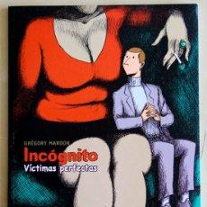 Cómics: INCOGNITO: VICTIMAS PERFECTAS. NOVELA GRAFICA. Lote 55029943