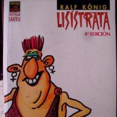 Fumetti: NOVELA GRAFICA RALF KÖNIG LISISTRATA LA CUPULA. (ST/A18). Lote 38919180