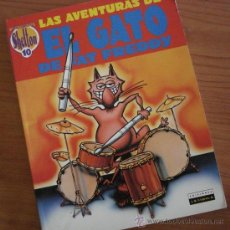 Cómics: LAS AVENTURAS DEL GATO DE FAT FREDDY, GILBERT SHELTON. ALBUM LA CÚPULA 1991.. Lote 38932529