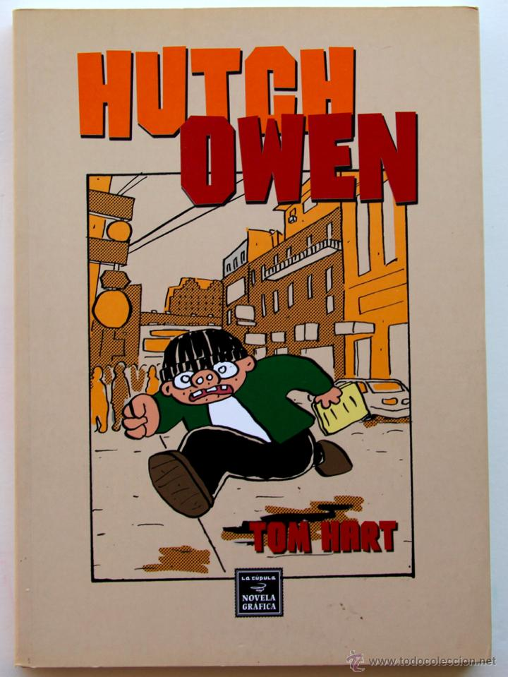 HUTCH OWEN - TOM HART (NOVELA GRAFICA) (Tebeos y Comics - La Cúpula - Comic USA)