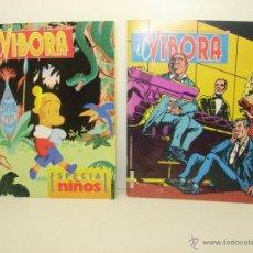 Cómics: LOTE 2 COMICS EL VIBORA Nº 101 Y ESPECIAL NIÑOS. Lote 39675744
