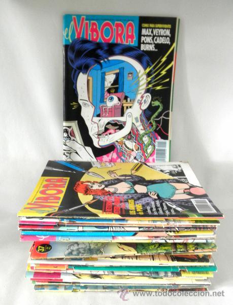 LOTE DE 23 COMICS VIBORA + LOTE DE 7 HISTORIAS COMPLETAS EL VIBORA (Tebeos y Comics - La Cúpula - El Víbora)