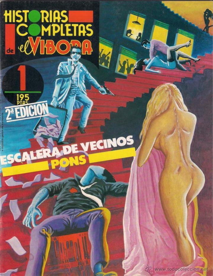 ESCALERA DE VECINOS. PONS - HISTORIAS COMPLETAS DE EL VÍBORA Nº 1. 1987 LA CÚPULA. (Tebeos y Comics - La Cúpula - El Víbora)