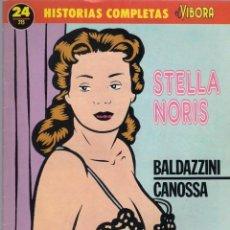 Cómics: STELLA NORIS. BALDAZZINI, CANOSSA - HISTORIAS COMPLETAS DE EL VÍBORA Nº 24. 1989 LA CÚPULA.. Lote 39765871