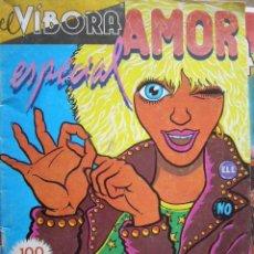 Cómics: EL VIBORA. ESPECIAL AMOR. Lote 39887934