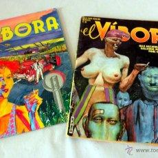 Cómics: LOTE 2 COMICS * EL VIBORA 80 * 81. Lote 39939723
