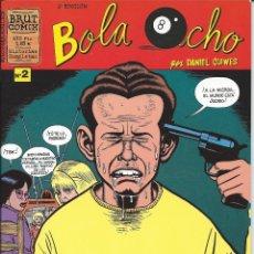 Cómics: COMIC BOLA OCHO Nº 2 - DANIEL CLOWES - LA CÚPULA - ADULTOS. Lote 39905152
