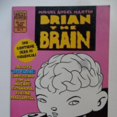 Cómics: BRIAN THE BRAIN Nº 1 . MIGUEL ÁNGEL MARTÍN . BRUT COMIX. Lote 40614181