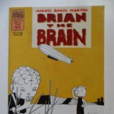 Cómics: BRIAN THE BRAIN Nº 7 . MIGUEL ÁNGEL MARTÍN . BRUT COMIX. Lote 40614367