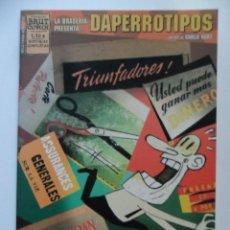Cómics: LA BRASERÍA PRESENTA DAPERROTIPOS . CARLO HART . BRUT COMIX. Lote 40621929
