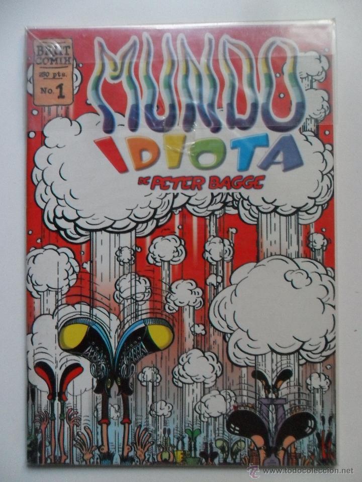 MUNDO IDIOTA Nº 1 . PETER BAGGE . BRUT COMIX (Tebeos y Comics - La Cúpula - Comic USA)