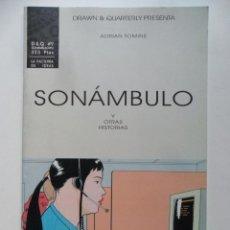 Cómics: SONÁMBULO Y OTRAS HISTORIAS . DRAWN & QUATERLY # 9 . ADRIAN TOMINE. Lote 40635056