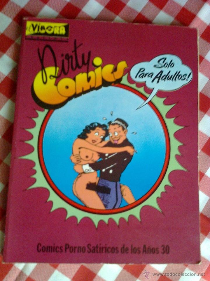 DIRTY COMICS VOLUMEN I - COMICS SATÍRICOS DE LOS AÑOS 30 - EL VÍBORA - LA CÚPULA 1980 (Tebeos y Comics - La Cúpula - Comic USA)