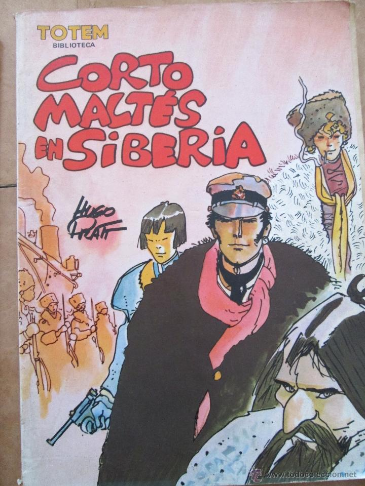 CORTO MALTES EN SIBERIA (Tebeos y Comics - La Cúpula - Comic Europeo)