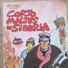 Cómics: CORTO MALTES EN SIBERIA. Lote 40899795