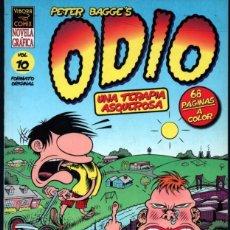 Cómics: ODIO VOL. 10 PETER BAGGE UNA TERAPIA ASQUEROSA. Lote 41055556