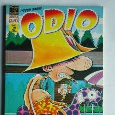 Cómics: ODIO VOL. 2 - VIBORA COMIX NOVELA GRÁFICA DE PETER BAGGE - EDICIONES LA CÚPULA 1995. Lote 194101181
