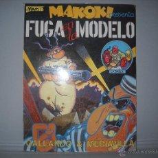 Cómics: MAKOKI EN FUGA EN LA MODELO-COMIC DE GALLARDOY MEDIAVILLA-EL VIBORA-LA CUPULA 1982,65 PAGINAS. Lote 41140836
