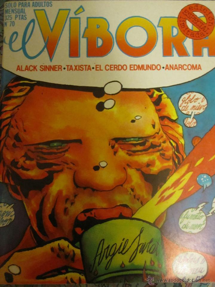 EL VIVORA ESPECIAL Nº 70. DIFICIL (Tebeos y Comics - La Cúpula - El Víbora)