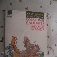 Cómics: CORAZONES CALIENTES HISTORIAS DE AMOR. Lote 40902620