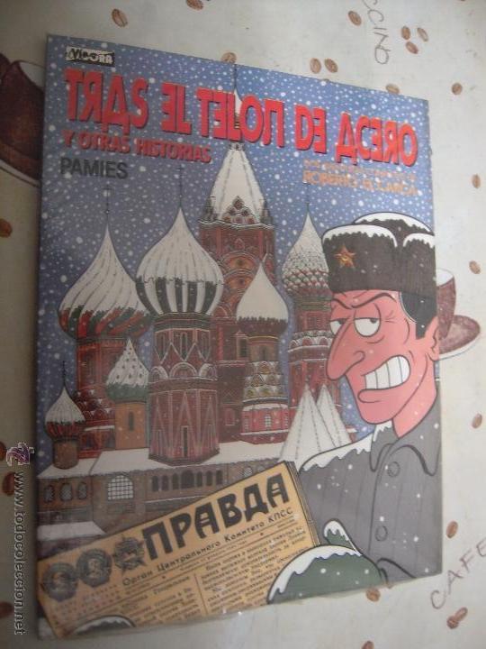 TRAS EL TELON DE ACERO Y OTRAS HISTORIAS (Tebeos y Comics - La Cúpula - Autores Españoles)