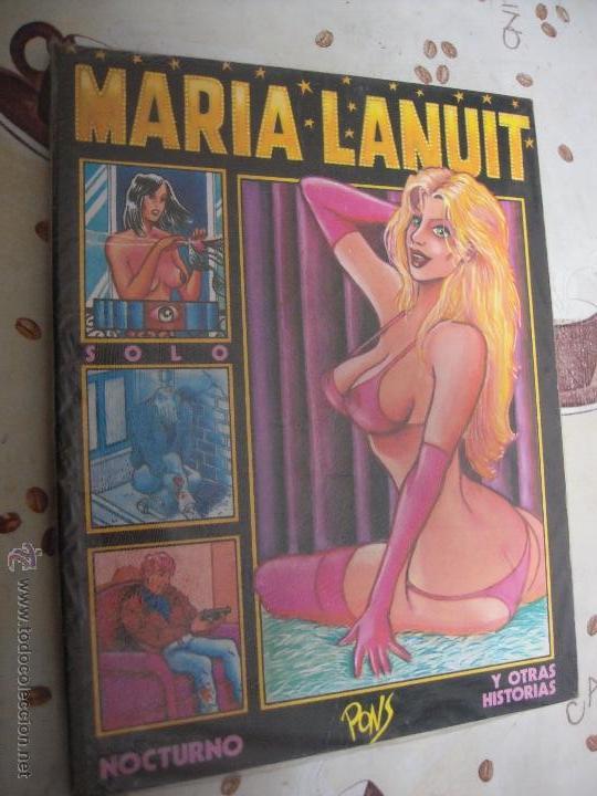 MARIA LANUIT (Tebeos y Comics - La Cúpula - Autores Españoles)