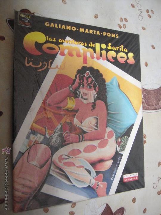 LAS AVENTURAS DE SARITA COMPLICES (Tebeos y Comics - La Cúpula - Autores Españoles)