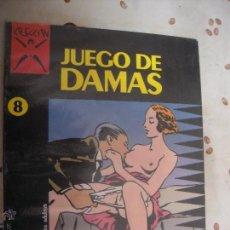 Cómics: JUEGO DE DAMAS COLECCION X 8. Lote 41261857