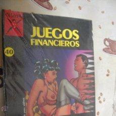 Cómics: JUEGOS FINANCIEROS COLECCION X 40. Lote 41276195