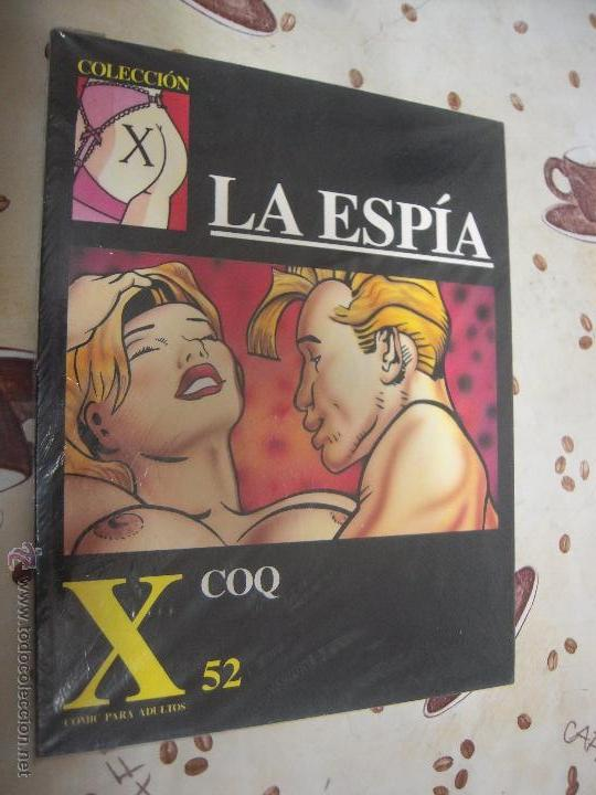 LA ESPIA COLECCION X 52 (Tebeos y Comics - La Cúpula - Comic Europeo)