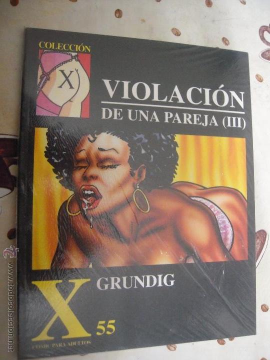 VIOLACION DE UNA PAREJA 3 COLECCION X 55 (Tebeos y Comics - La Cúpula - Comic Europeo)