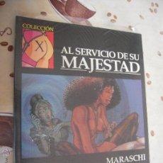 Cómics: AL SERVICIO DE SU MAJESTAD COLECCION X 95. Lote 41279391