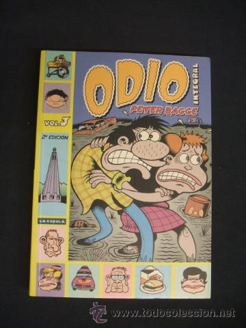 ODIO - PETER BAGGE - INTEGRAL - VOLUMEN 3 - LA CUPULA - (Tebeos y Comics - La Cúpula - Comic USA)